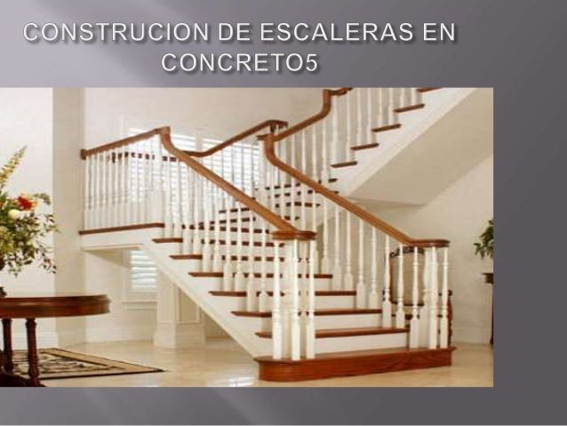 Construcion de escaleras en concreto for Escaleras en concreto