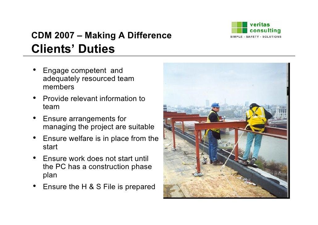 Construction Design And Management Regulations Cdm2007