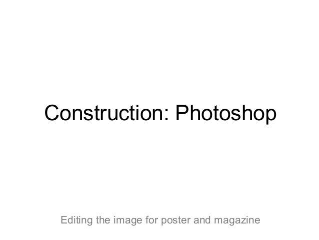 Construction photoshop