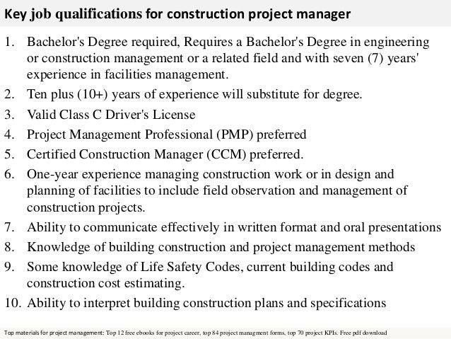 job description project manager event project manager job – Construction Job Description