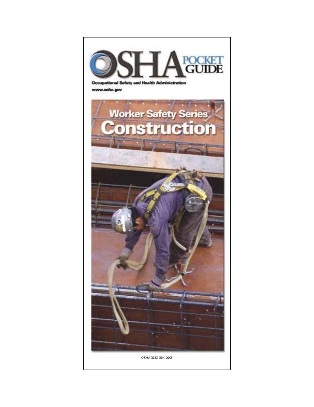 Construction safety pocket guide osha3252