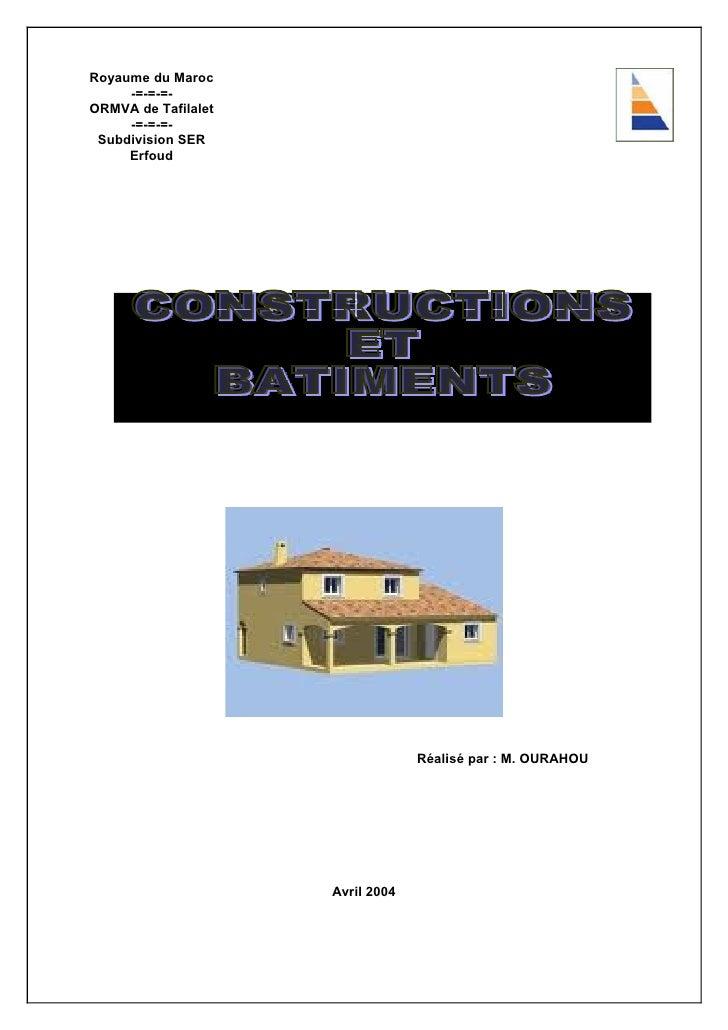 Constructions Et Batiments