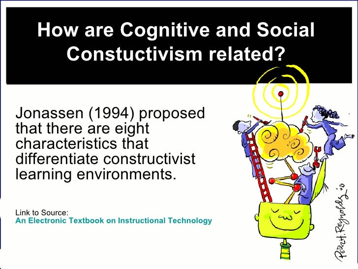 How are Cognitive and Social Constuctivism related? Jonassen (1994) proposed that there are eight characteristics that dif...