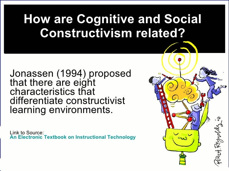 How are Cognitive and Social Constructivism related? Jonassen (1994) proposed that there are eight characteristics that di...