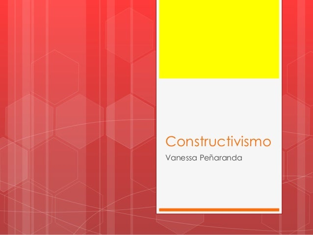 Constructivismo Vanessa Peñaranda