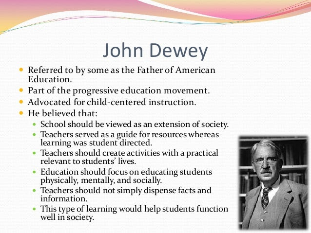 john dewey thinking in education essay