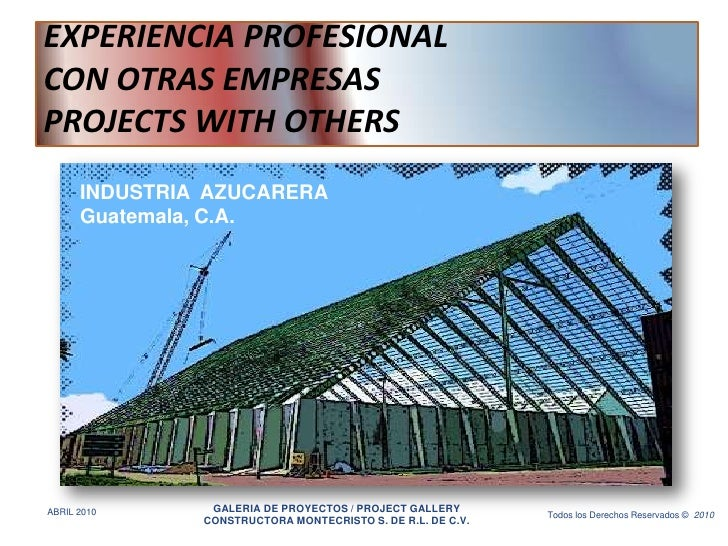 Constructora montecristo project gallery with others