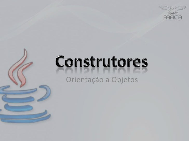 Construtor em Java