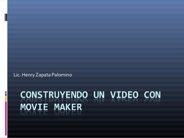 Lic. Henry Zapata Palomino