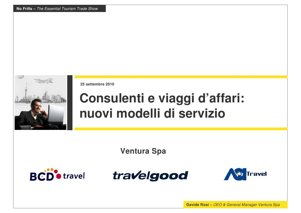Consulenti di viaggio e business travel