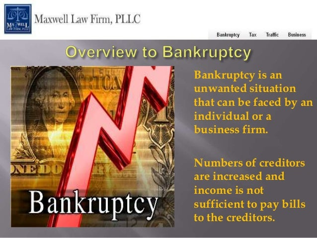 Bankruptcy is anunwanted situationthat can be faced by anindividual or abusiness firm.Numbers of creditorsare increased an...