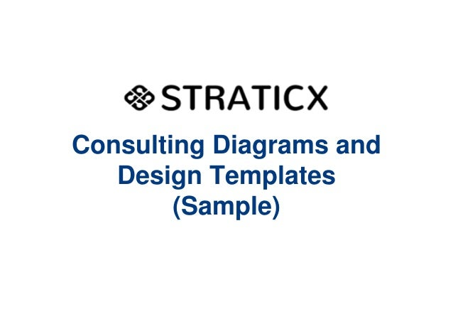 consulting diagrams and design templates sample