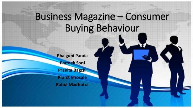 customer buying behaviour towards business magazines Open journal of business and minant impact of brand equity on customer response toward the branding the impact of brand image on consumer behavior.