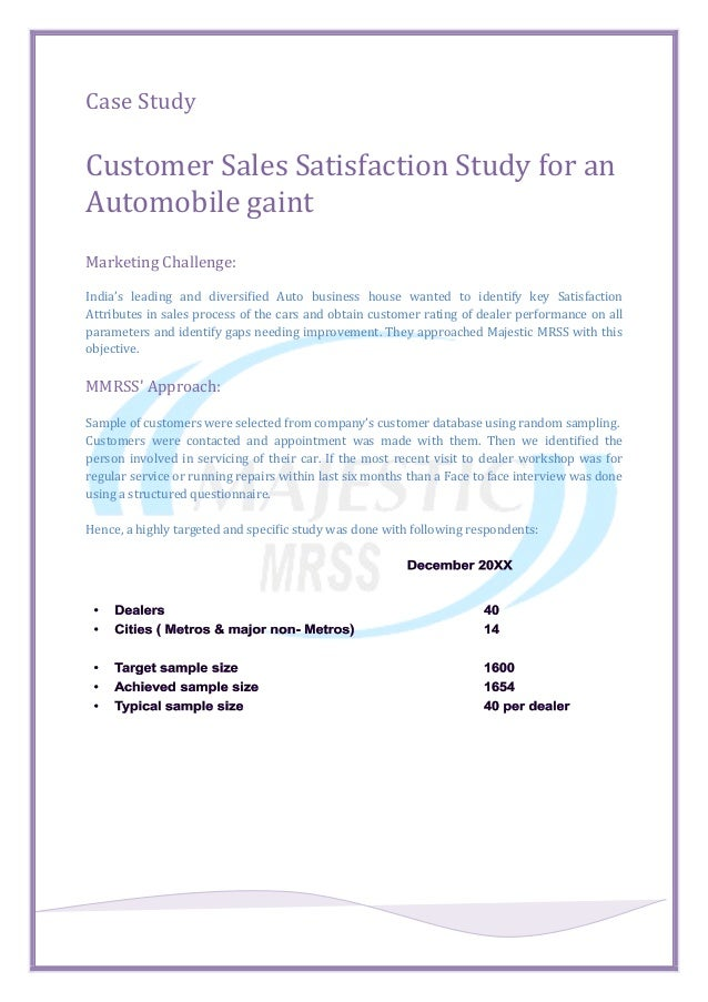 case study in marketing management with solutions
