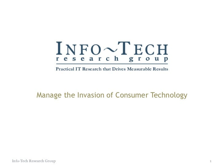 Consumer tech invasion