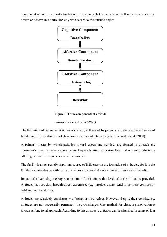Research attitude paper