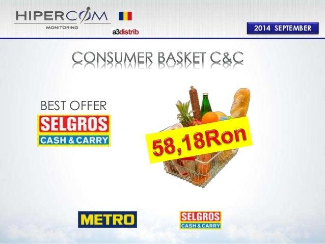 Consumer Basket Cash and Carry September 2014