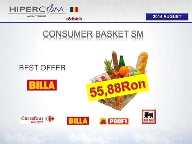 Consumer Basket Supermarket August 2014