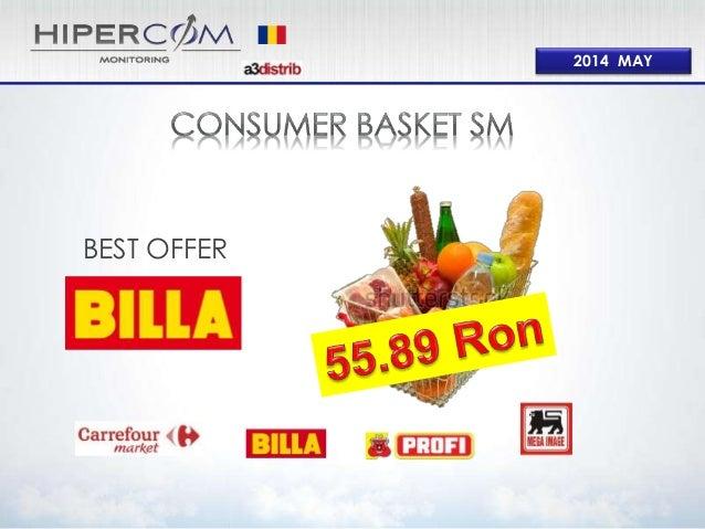 Consumer Basket Supermarket May 2014 RO