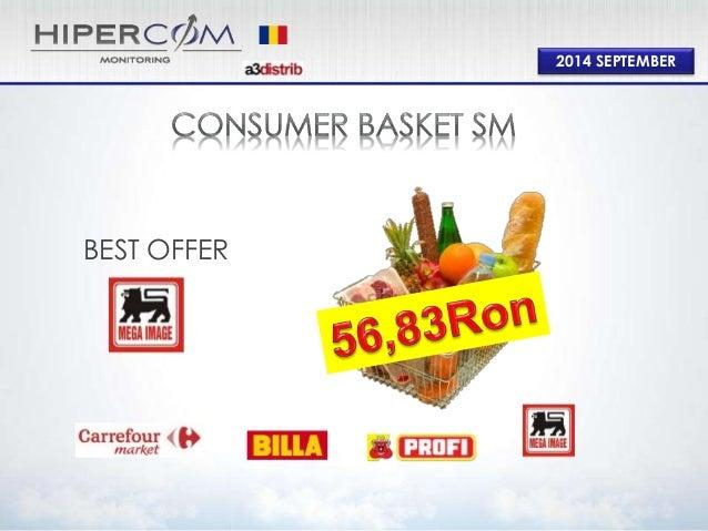 Consumer Basket Supermarket September 2014