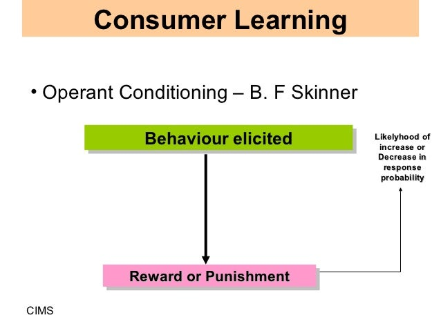 applying operant conditioning techniques on people to influence their behavior Teaching operant conditioning at although scientists conduct basic operant research and apply basic operant the best way in which to shape their behavior.