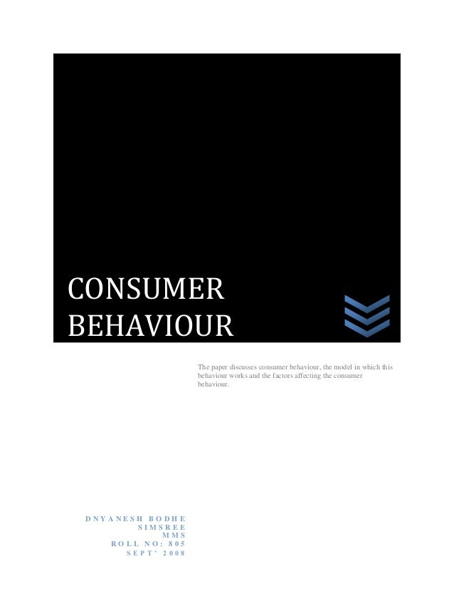 Consumer's behavior over shoes