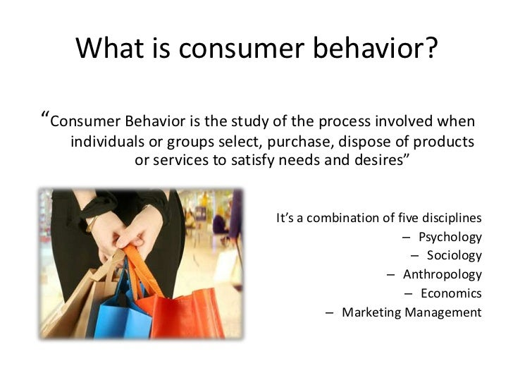 marketing consumer behavior essay