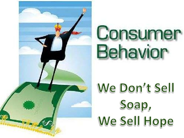 We Don't Sell Soap, We Sell Hope<br />