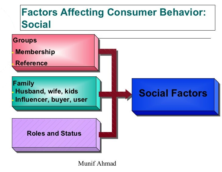 personal factors affecting consumer behaviour pdf