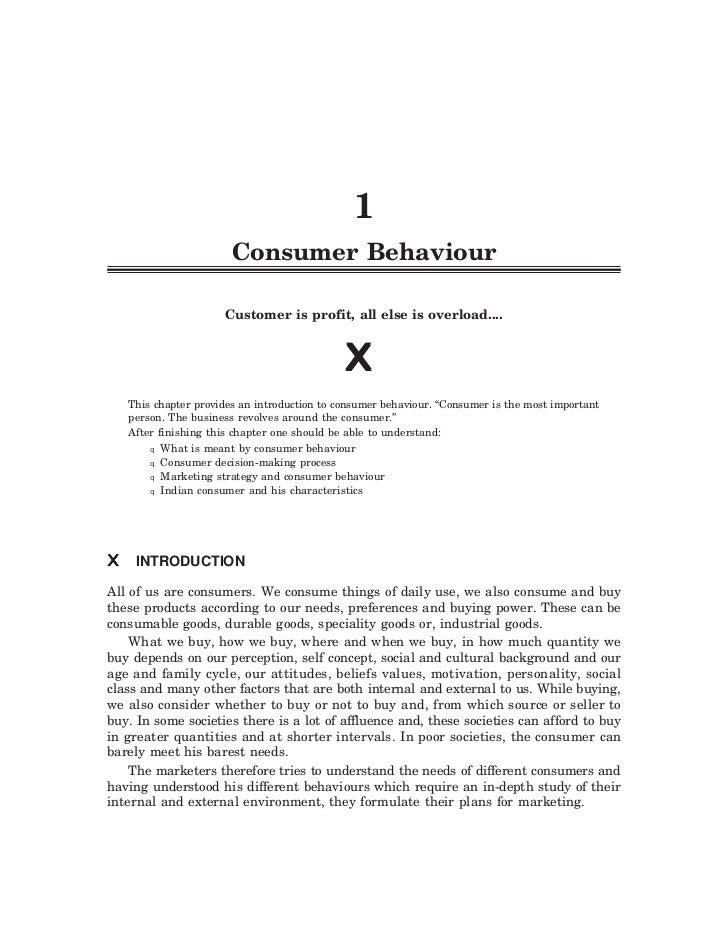 q   Consumer Behaviour 1       q                                                1                        Consumer Behaviou...