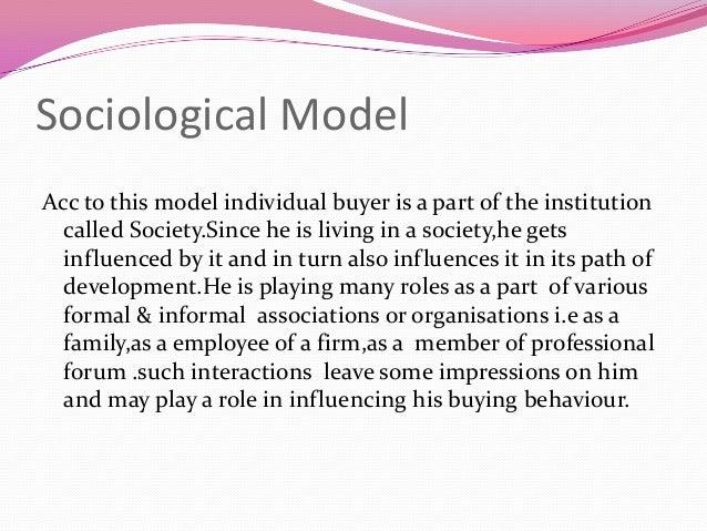 howrad sheth model Title: an empirical test of the howard-sheth model of buyer behavior created date: 20160807093413z.