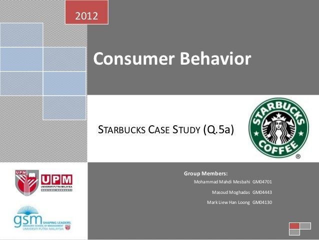starbucks consumer behavior analysis