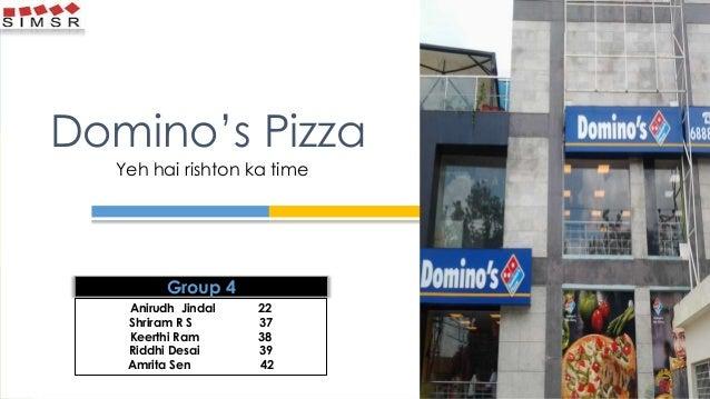 Domino's Pizza Yeh hai rishton ka time Anirudh Jindal 22 Shriram R S 37 Keerthi Ram 38 Riddhi Desai 39 Amrita Sen 42 Group...