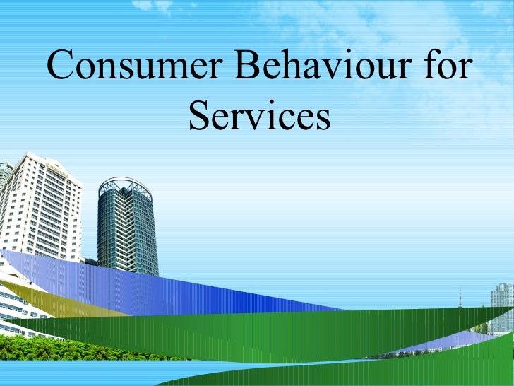 Consumer behaviour for services ppt @ bec doms bagalkot mba marketing