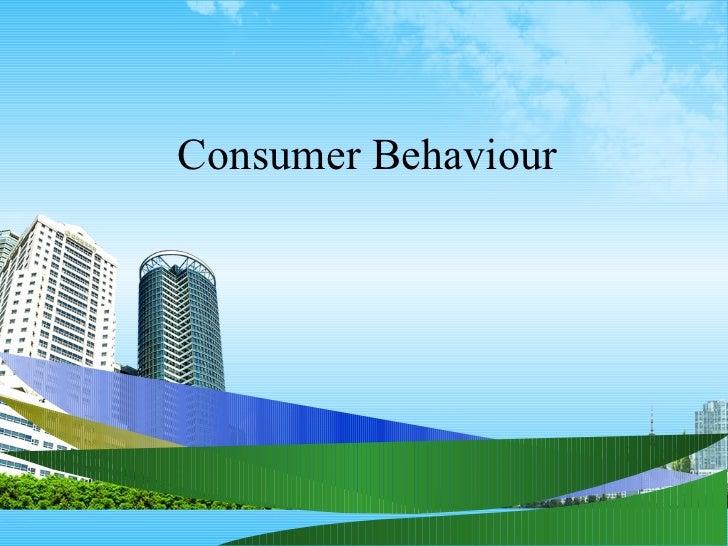 Consumer behaviour ppt @ bec doms bagalkot mba