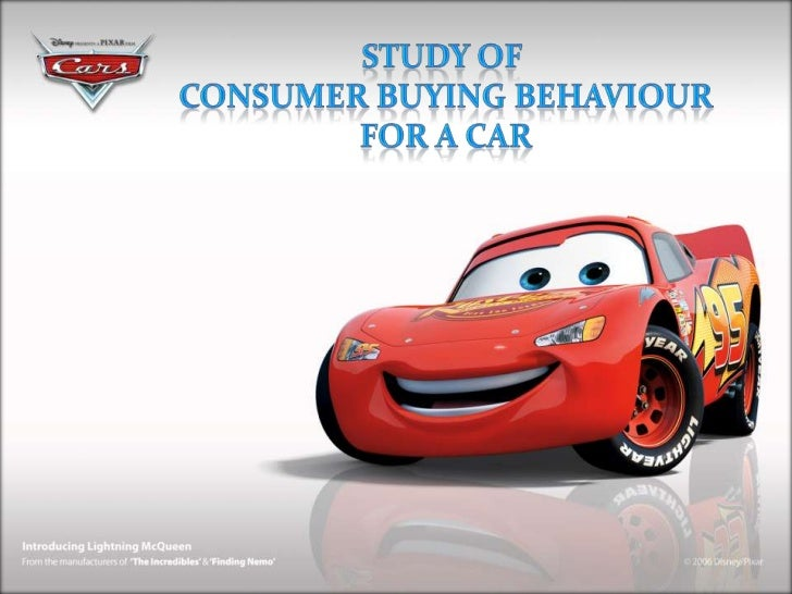 Consumer Behaviour Towards Buying Cars