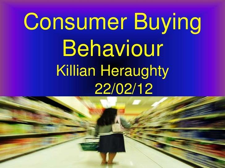 customer buying habits