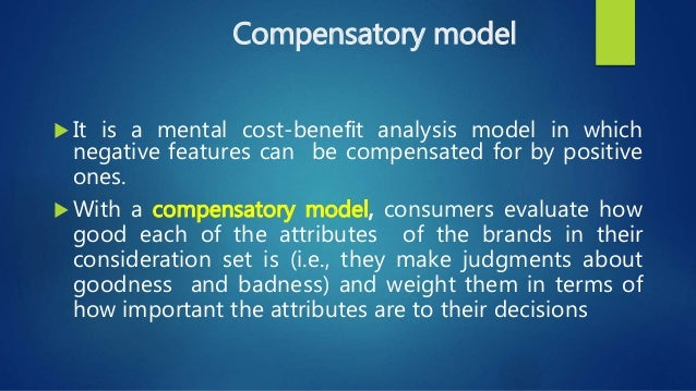 an analysis of a simple model of consumer decision making You can use these five steps for any goal setting or for making any kind of decision write a couple of practice scenarios see how they feel trauma resiliency model: a simple 5-step decision-making process.