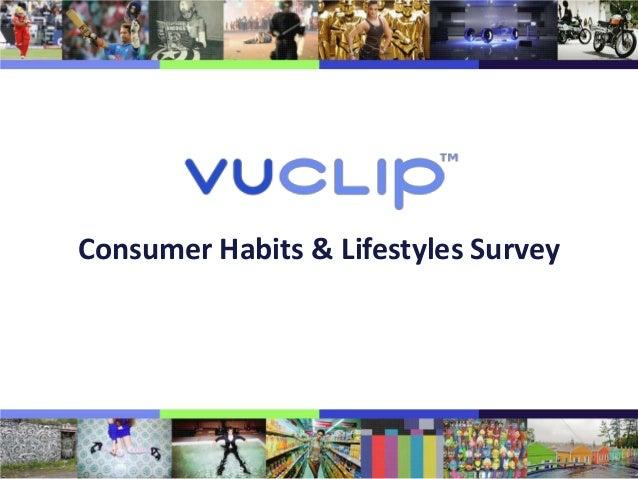 Consumer Habits & Lifestyles Survey