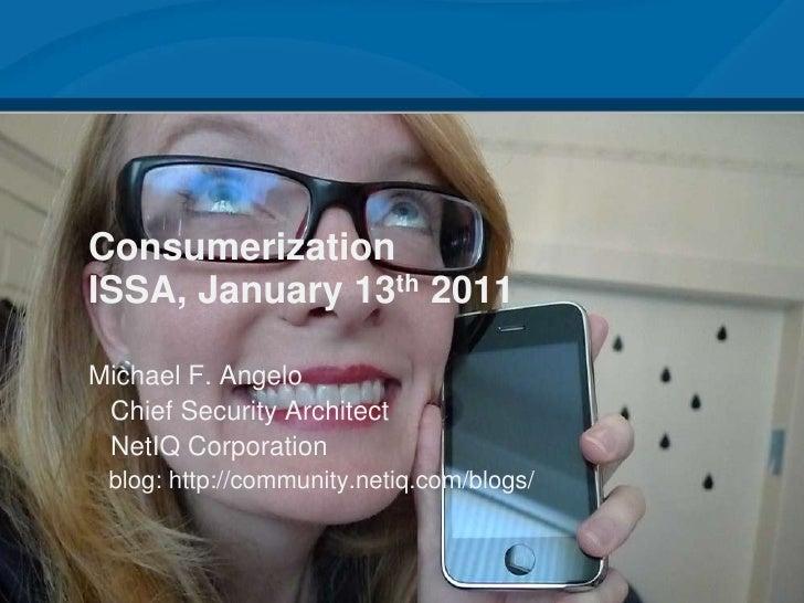 ISSA Houston – The Consumerization of IT