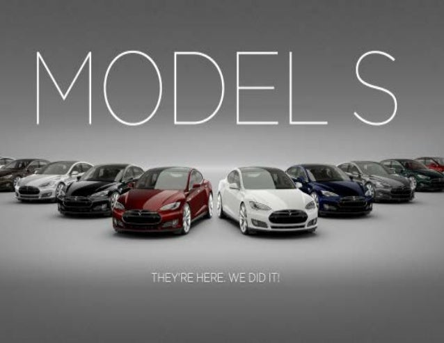 The Tesla Model S is the world's first premium electric sedan.Their challenge is educating consumers about radically new p...