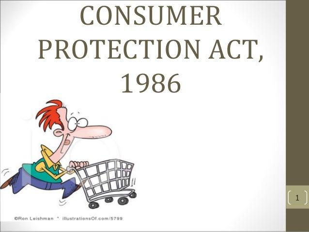 Consumerprotectionact