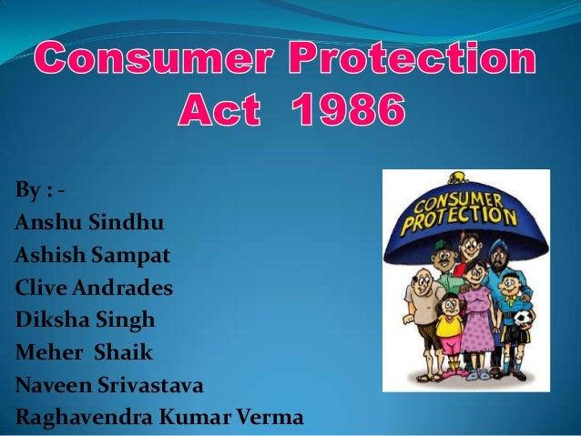 Consumer protection act presentation