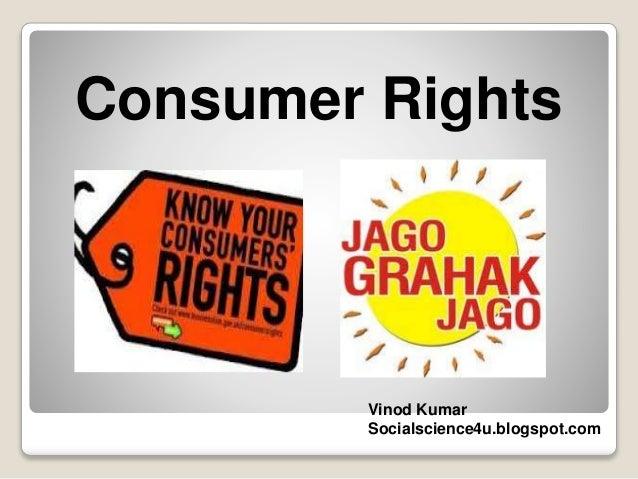 Consumer rights