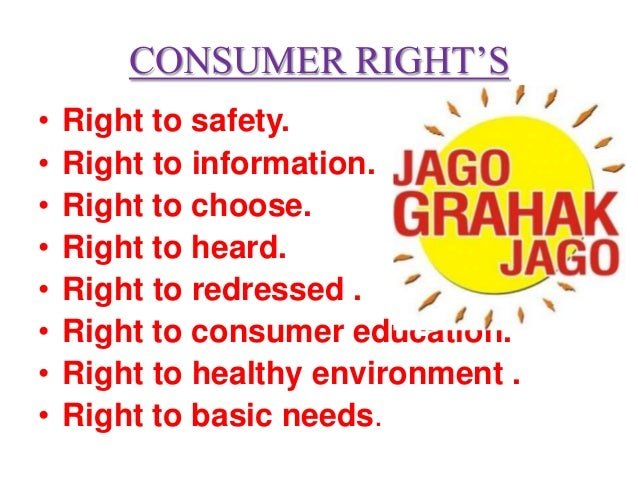 consumer rights Consumer rights the department is dedicated to protecting the rights of those who receive its services promoting clients' rights and interests is known as advocacy to implement this important activity, the department operates a.