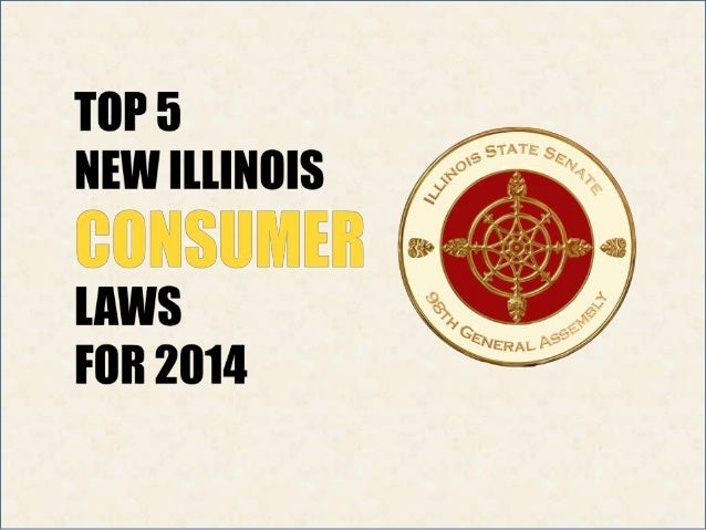 Hundreds of new laws took effect in Illinois on January 1.