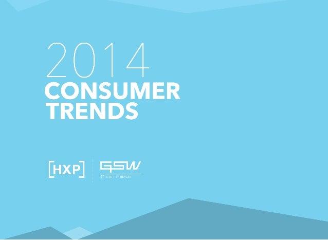 2014 Consumer Trends