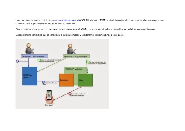 Consumo de APIs usando el WSO2 API Manager