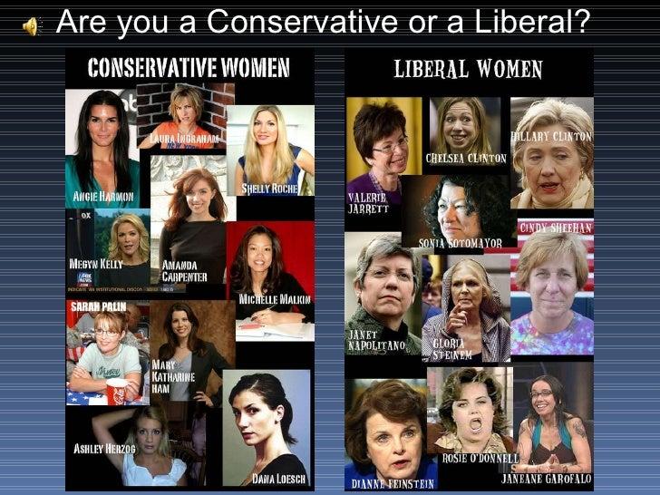 Conservative Vs Liberal