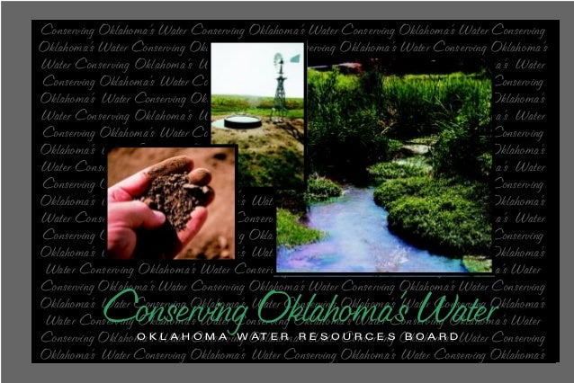 Conserving Oklahoma's Water